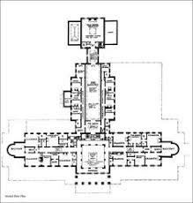 Gilded Age Mansions Floor Plans 1901 Charles M Schwab Mansion Ground Floor Plan Architecture