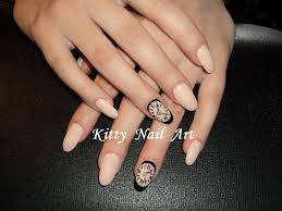 oval acrylic nail designs how you can do it at home pictures