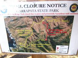 Point Lobos State Reserve Map by Way Points Trail Closure At Garrapata
