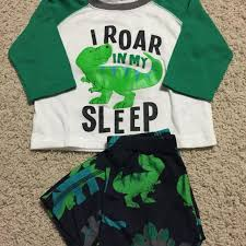 find more s brand i roar in my sleep dinosaur pajamas