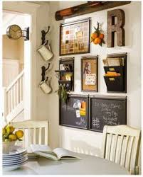 kitchen message center ideas gallery wall command center farmhouse decor fixer style