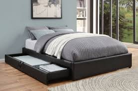 Upholstered Queen Bed Frame by Coaster 300386q Hunter Black Storage Upholstered Queen Bed