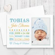 birth announcement and baby thank you photo cards