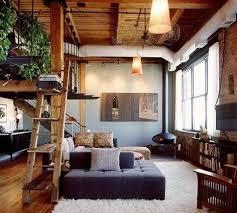 holz wohnzimmer einrichtungsideen wohnzimmer rustikal mit kreativem bücherregal