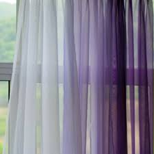 Lilac Sheer Curtains Privacy