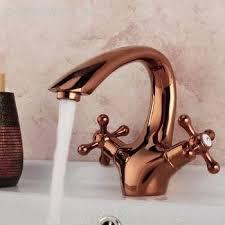 Antique Gold Bathroom Faucets Copper Bathroom Faucet Antique Copper Finish Waterfall Bathroom