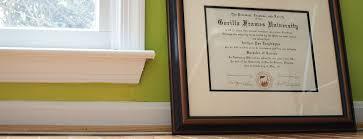 diploma framing gorilla frames rockefeller preservation diploma framing gorilla