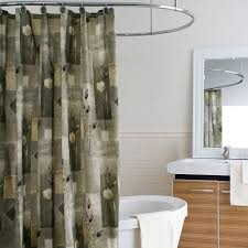 Green And Gray Shower Curtain Modern Shower Curtains Shower Curtains Outlet
