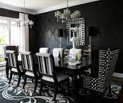 black decor black and silver dining room set inspiring exemplary ideas about