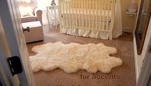 amazing faux sheepskin area rug rugs decoration with regarding