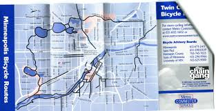 Map Of St Paul Mn Minneapolis Flashback 1998 Chain Gang Map Ride Boldly