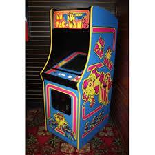 Ms Pacman Cabinet Ms Pacman Arcade Machine