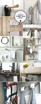 bathroom towel ideas unique ideas for bathroom towel bars and racks home tree atlas