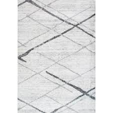 nuloom thigpen grey 5 ft x 8 ft area rug bdsm04a 508 the home