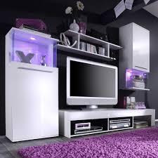 wohnzimmer schrankwand modern schrankwand in weiß chic 4 teilig wohnzimmerschrank wohnwand