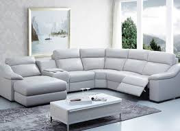 reclining sectional sofas with chaise leather reclining sofa with chaise devasbrightmoon com