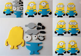 diy minion invitations minions die cuts diy kids crafts birthday party diy