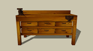 wooden workbench plans 3 home decoration
