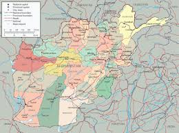Afghanistan On World Map by Afghanistan Map Capital Kabul