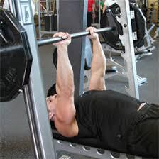 Bench Press Machine Weight Smith Machine Close Grip Bench Press Exercise Videos U0026 Guides