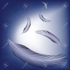 wind art feathers in the wind abstract vector art illustration royalty