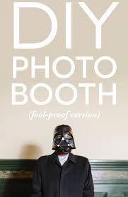 diy wedding photo booth the fool proof and diy photo booth a practical wedding a