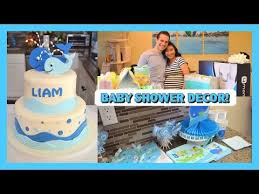 whale themed baby shower baby shower decorations