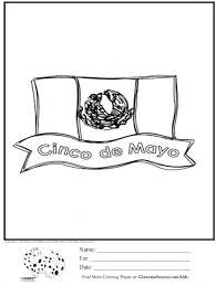 New Mexican Flag Coloring Page New Mexico Flag Sheet Mexican Eagle Mexico Flag