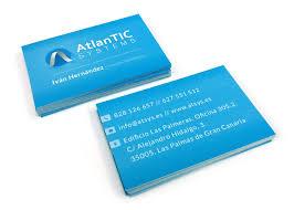 tarjeta de visita diseo diseño de tarjetas de visita las palmas de gran canaria