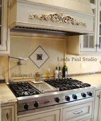 backsplash medallions kitchen tribeca metal and backsplash mosaic tile medallion