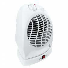 oscillating fan and heater kenmore 92050 oscillating fan forced heater white shop your way