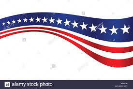 us flag stripes vector graphic background design stock vector