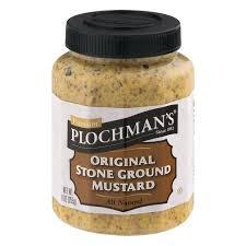 ground mustard plochman s original ground mustard 9 0 oz walmart