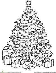 christmas tree coloring pictures irebiz