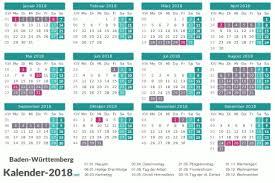Kalender 2018 Hessen Ausdrucken Ferien Baden Württemberg 2018 Ferienkalender übersicht