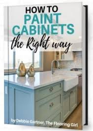 how to prep cabinets for painting how to paint cabinets the right way the flooring