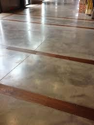 concrete floors with wood inlay floor concrete