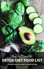 the ultimate detox diet food list what to avoid detox diy