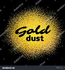 gold dust on black gold sand stock vector 340747049 shutterstock