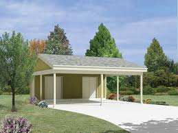 garage carport plans country two car carport with storage 002d 6045 garage plans and