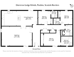3 bed detached house for sale in glentress lodge peebles
