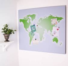 Large World Map Poster Giant Colouring World Map By Doodlebugz
