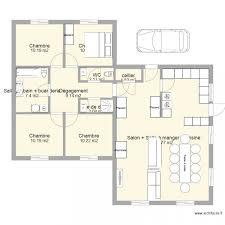 plan maison plain pied gratuit 4 chambres plan maison 5 chambres plain pied frais plan maison neuve gratuit 4