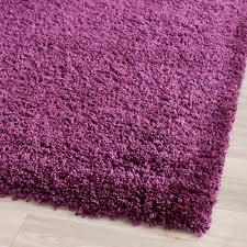Purple Shag Area Rugs Safavieh Power Loomed Purple Plush Shag Area Rugs Sg151 7373 Ebay