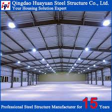 low cost quick build prefabricated steel structure warehouse for