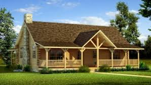 one level house plans with porch house plan danbury log home plan southland log homes https www