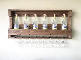 rustic wooden wine rack wine rack farmhouse decor wooden wine