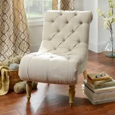 Ivory Accent Chair Ivory Button Tufted Chaise Accent Chair Kirklands