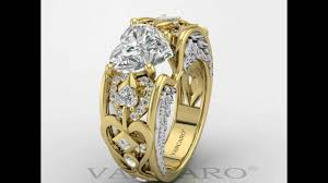 vancaro wedding rings vancaro heart shaped wedding ring plated with gold in sterling