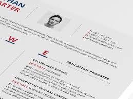 Modern Resume Format Modern Resume Template Psd Word